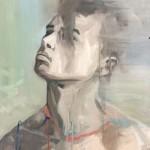 Portrait-n°25--acrylique-et-huile-sur-toile---80-x-60-cm