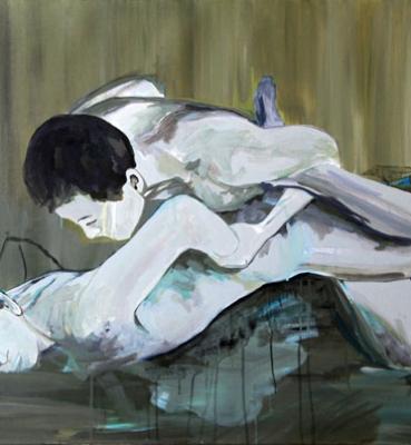 sans-titre – acrylique sur toile – 72 x 92 cm