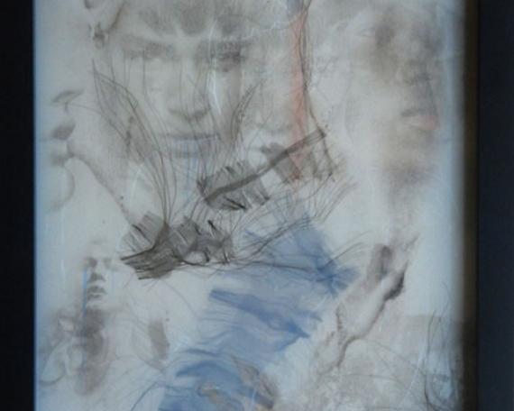Dessin n°1 – technique mixte – 33 x 27 cm