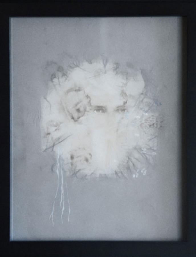 Dessin n°2 – technique mixte – 33 x 27 cm