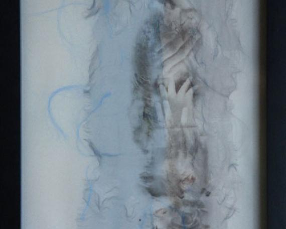 Dessin n°3 – technique mixte – 33 x 27 cm