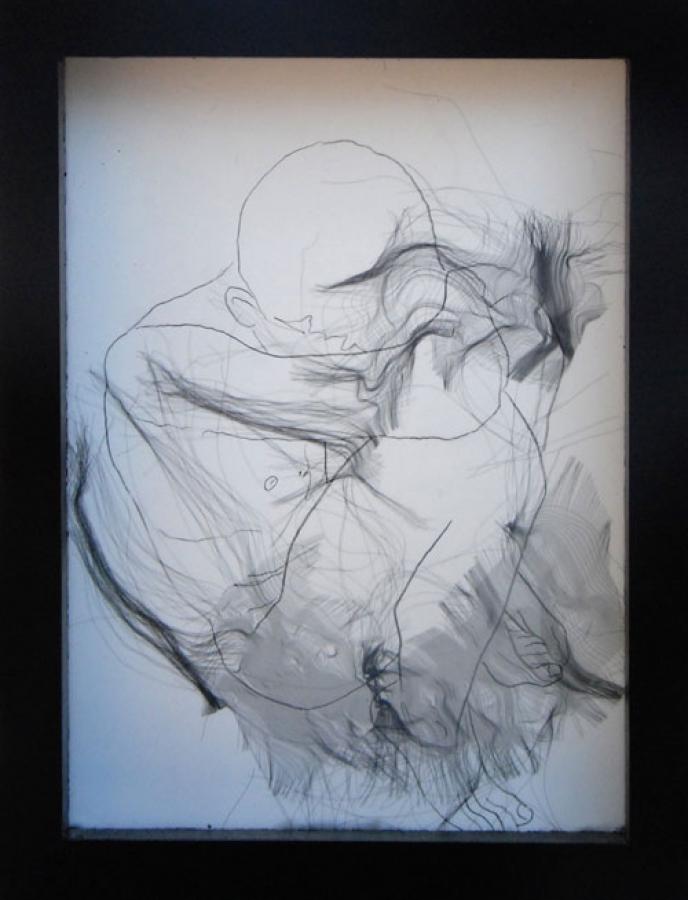 Dessin A – technique mixte – 21 x 16 cm