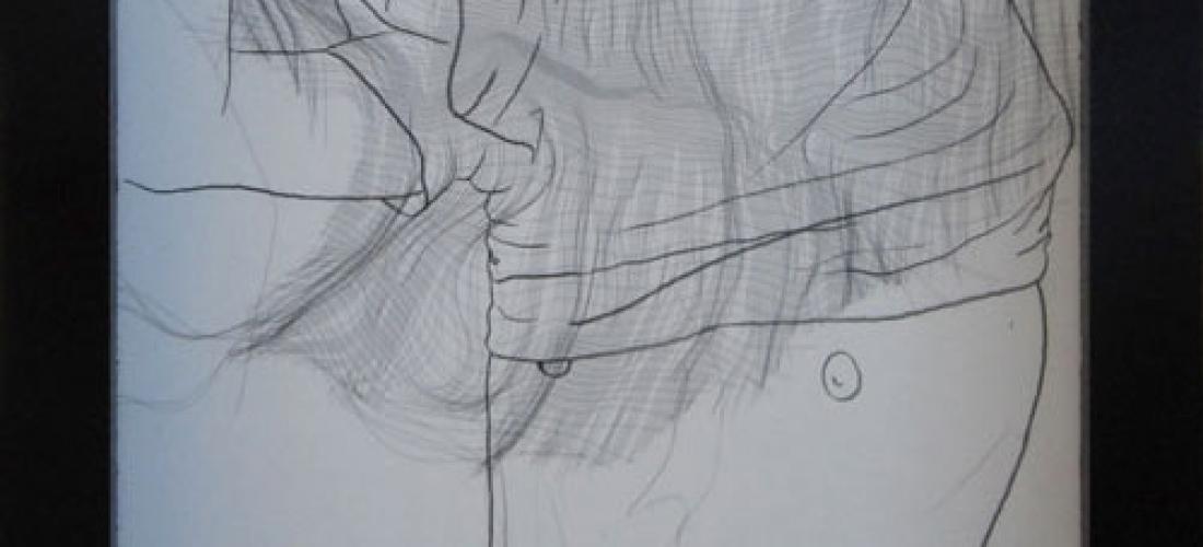 Dessin D – technique mixte – 21 x 16 cm